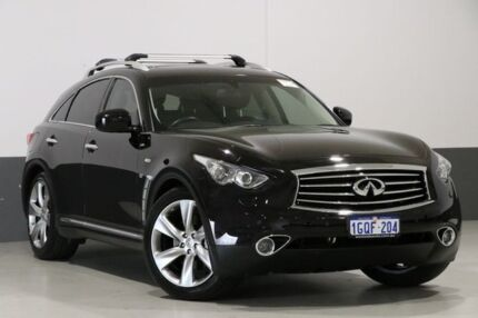 2015 Infiniti QX70 3.7 GT Black 7 Speed Automatic Wagon Bentley Canning Area Preview