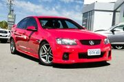 2011 Holden Commodore VE II SS Red 6 Speed Sports Automatic Sedan Myaree Melville Area Preview