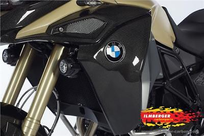 Ilmberger Carbon Fibre L&R Radiator Airbox Covers BMW F800GS Adventure 2014