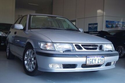 2002 Saab 9-3 MY2002 Aero Silver 4 Speed Automatic Sedan Myaree Melville Area Preview