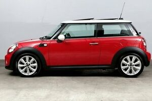 2013 Mini Hatch R56 LCI Cooper Steptronic Red 6 Speed Sports Automatic Hatchback Alexandria Inner Sydney Preview