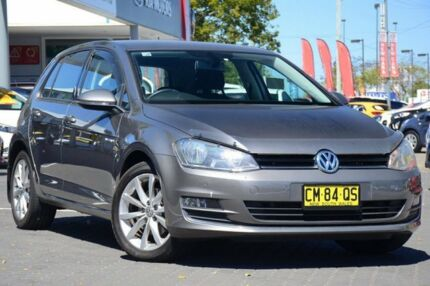 2015 Volkswagen Golf VII MY15 110TDI DSG Highline Grey 6 Speed Sports Automatic Dual Clutch
