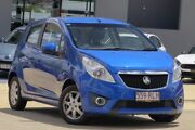2011 Holden Barina Spark MJ MY11 CD Blue 5 Speed Manual Hatchback Yeerongpilly Brisbane South West Preview