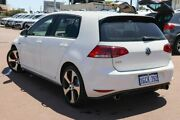 2016 Volkswagen Golf VII MY17 GTI DSG White 6 Speed Sports Automatic Dual Clutch Hatchback Osborne Park Stirling Area Preview