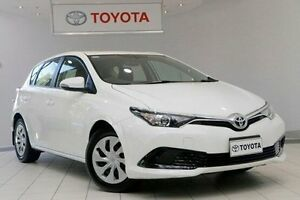 2016 Toyota Corolla ZRE182R Ascent S-CVT Glacier White 7 Speed Constant Variable Hatchback Waterloo Inner Sydney Preview