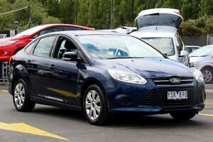 2011 Ford Focus LW Ambiente PwrShift Blue 6 Speed Sports Automatic Dual Clutch Sedan Ringwood East Maroondah Area Preview