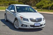 2012 Holden Cruze JH Series II MY12 CDX White 6 Speed Sports Automatic Sedan Wilson Canning Area Preview