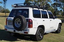 2011 Nissan Patrol GU 7 MY10 DX White 5 Speed Manual Wagon Bundaberg West Bundaberg City Preview