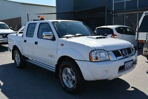 2012 Nissan Navara D22 MY08 ST-R (4x4) White 5 Speed Manual Dual Cab Pick-up Welshpool Canning Area Preview