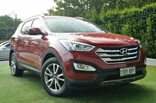 2013 Hyundai Santa Fe DM MY13 Elite Red 6 Speed Sports Automatic Wagon Paradise Campbelltown Area Preview