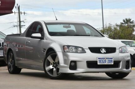 2013 Holden Commodore VE II MY12.5 SV6 Z-Series Silver 6 Speed Automatic Utility
