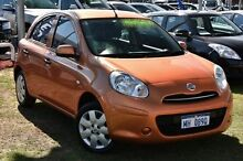 2013 Nissan Micra K13 MY13 ST-L Gold 4 Speed Automatic Hatchback Myaree Melville Area Preview