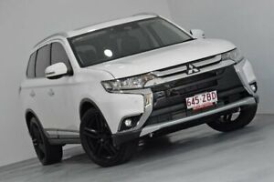 2017 Mitsubishi Outlander ZK MY17 Exceed 4WD White 6 Speed Sports Automatic Wagon Indooroopilly Brisbane South West Preview