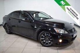 LEXUS IS 5.0 F 4d AUTO 417 BHP (black) 2008