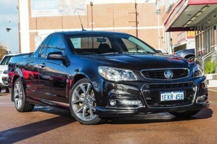 2014 Holden Ute VF MY14 SS V Ute Black 6 Speed Sports Automatic Utility Fremantle Fremantle Area Preview