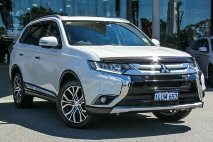 2017 Mitsubishi Outlander ZL MY18.5 Exceed AWD Starlight 6 Speed Sports Automatic Wagon Myaree Melville Area Preview
