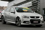 2015 Holden Commodore VF MY15 SV6 Storm Silver 6 Speed Sports Automatic Sedan Hillcrest Logan Area Preview