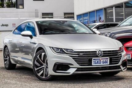 2017 Volkswagen Arteon 3H MY18 206TSI Sedan DSG 4MOTION R-Line Silver 7 Speed Myaree Melville Area Preview