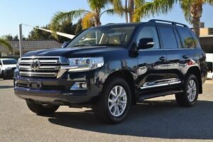 2015 Toyota Landcruiser VDJ200R Sahara Onyx Blue 6 Speed Sports Automatic Wagon Claremont Nedlands Area Preview