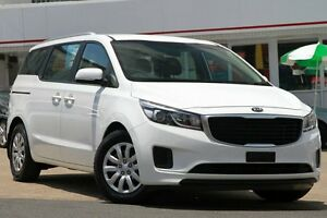 2015 Kia Carnival YP MY15 S Clear White 6 Speed Sports Automatic Wagon Woolloongabba Brisbane South West Preview