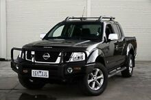 2011 Nissan Navara D40 MY11 ST-X 550 Black 7 Speed Sports Automatic Utility Frankston Frankston Area Preview