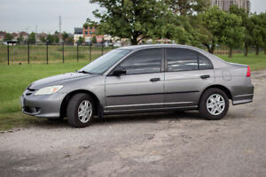 MUST SEE | ALL HIGHWAY KM'S | ONE OWNER - 2005 Honda Civic SE