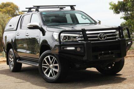 2015 Toyota Hilux GUN126R SR5 Double Cab Black 6 Speed Manual Utility