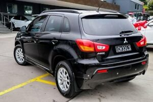 2011 Mitsubishi ASX XA MY12 Platinum 2WD Black 6 Speed Constant Variable Wagon