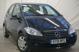 2010 Mercedes-Benz A Class 2.0 A160 CDI CLASSIC SE 5d AUTO 81 BHP Diesel black C
