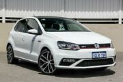 2017 Volkswagen Polo GTI DSG 6R MY17 White Sports Automatic Dual Clutch Hatchback Cannington Canning Area Preview