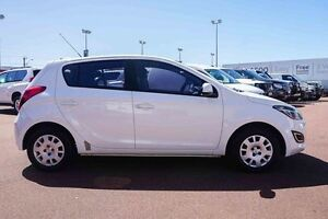 2013 Hyundai i20 PB MY14 Active White 4 Speed Automatic Hatchback Westminster Stirling Area Preview