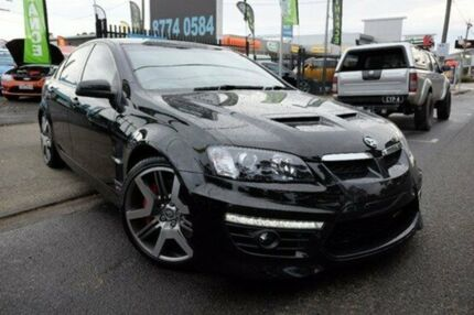 2009 Holden Special Vehicles GTS E Series 2 Black 6 Speed Sports Automatic Sedan