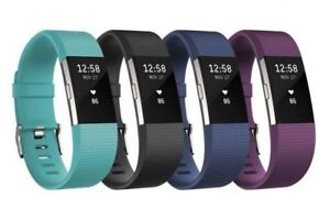 FITBIT CHARGE 2 FITNESS TRACKER (SMALL) - #TEAL #BLK #BLUE #PLUM