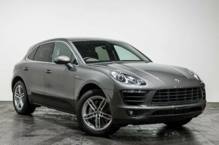 2015 Porsche Macan 95B MY15 S PDK AWD Diesel Grey 7 Speed Sports Automatic Dual Clutch Wagon Rozelle Leichhardt Area Preview