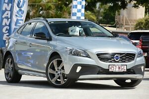 2014 Volvo V40 M Series MY15 Cross Country T5 Adap Geartronic AWD Luxury Silver 6 Speed Toowong Brisbane North West Preview