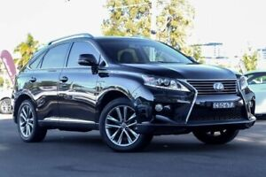 2014 Lexus RX450H GYL15R Sports Luxury Black 6 Speed Constant Variable Wagon Hybrid Kirrawee Sutherland Area Preview