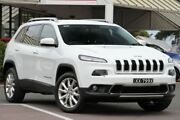 2014 Jeep Cherokee KL Limited White 9 Speed Sports Automatic Wagon Christies Beach Morphett Vale Area Preview