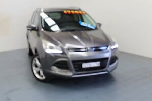 2014 Ford Kuga TF Titanium PwrShift AWD Sterling Grey 6 Speed Sports Automatic Dual Clutch Wagon Hamilton East Newcastle Area Preview