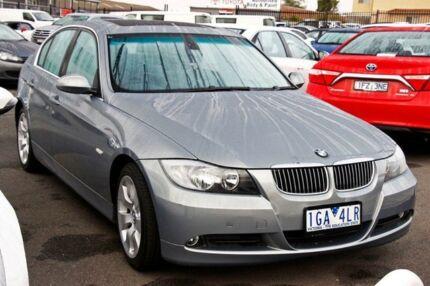 2007 BMW 323I E90 Steptronic Silver 6 Speed Sports Automatic Sedan