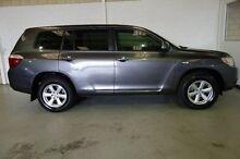 2009 Toyota Kluger GSU45R KX-R AWD Grey 5 Speed Sports Automatic Wagon Silver Sands Mandurah Area Preview