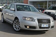 2008 Audi A6 4F Multitronic Silver 1 Speed Constant Variable Sedan Pearce Woden Valley Preview