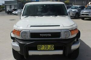 2014 Toyota FJ Cruiser GSJ15R MY14 White 5 Speed Automatic Wagon South Maitland Maitland Area Preview
