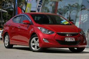 2013 Hyundai Elantra MD2 Elite Red 6 Speed Sports Automatic Sedan Kippa-ring Redcliffe Area Preview