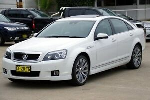 2015 Holden Caprice White Sports Automatic Sedan Greenacre Bankstown Area Preview
