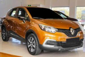 2018 Renault Captur J87 Zen EDC Orange 6 Speed Sports Automatic Dual Clutch Hatchback Osborne Park Stirling Area Preview