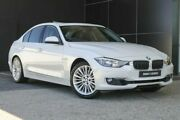 2014 BMW 328i F30 MY0813 Luxury Line White 8 Speed Sports Automatic Sedan Wangara Wanneroo Area Preview