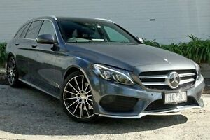 2016 Mercedes-Benz C250 205 MY16 Grey 7 Speed Sports Automatic Wagon Burwood Whitehorse Area Preview
