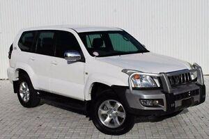 2005 Toyota Landcruiser Prado  White Automatic Wagon Embleton Bayswater Area Preview