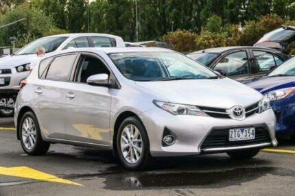2012 Toyota Corolla ZRE152R MY11 Ascent Sport Silver 6 Speed Manual Hatchback Ringwood East Maroondah Area Preview