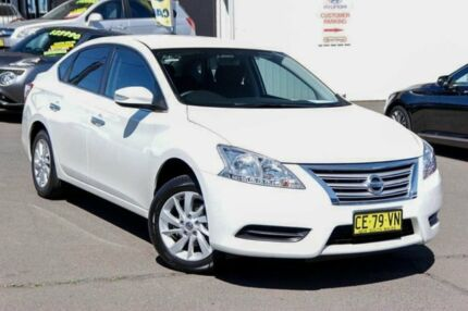 2015 Nissan Pulsar B17 Series 2 ST White 6 Speed Manual Sedan